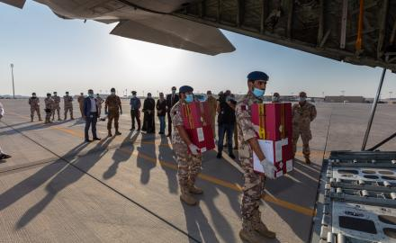 QF, HMC and Embassy of Italy combine to fly COVID-19 patients' plasma from Qatar to Italy