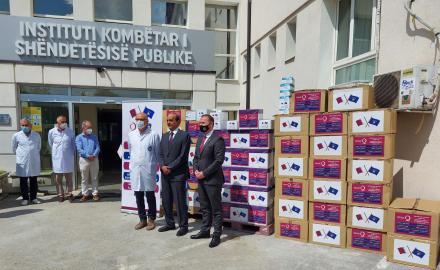 Qatar Charity sends medical assistance to Kosovo