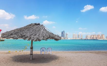 Katara to reopen beaches for visitors from Wednesday