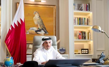 Qatar pledges $100 million to help alleviate suffering of Syrians