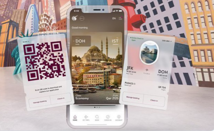 Qatar Airways adds new features to its mobile application