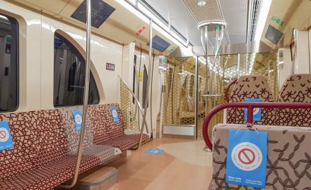 Doha Metro announces free metrolink services connecting The Pearl-Qatar