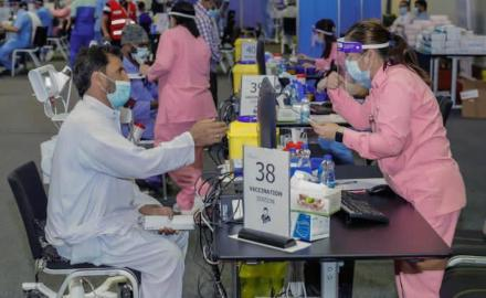 COVID-19 vaccination at QNCC by appointment only; walk-ins will not be accepted