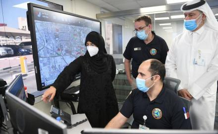 Health Minister visits National Health Incident Command Center