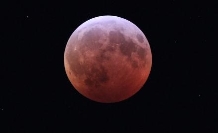 The Super Flower Blood Moon lunar eclipse on May 26: Qatar Calendar House