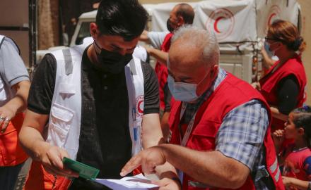 QRCS, PRCS set to start $672,000 relief aid distributions
