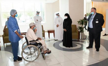Al Wakra and Ras Laffan Hospitals discharge last COVID-19 patients