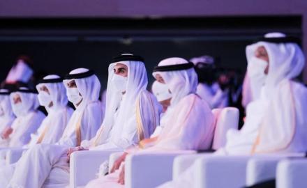HH the Amir graces graduation ceremony of Qatar University students