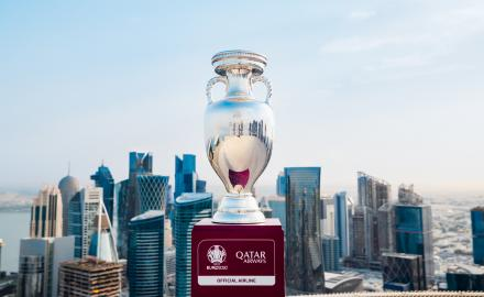 Qatar Airways sponsor the launch of the official UEFA EURO 2020™ podcast