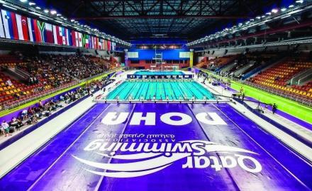Qatar prepares to host 28th GCC Aquatics Championships