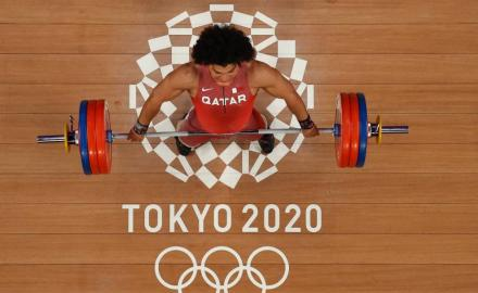 WATCH: Fares Ibrahim strikes first gold for Qatar at Tokyo Olympics