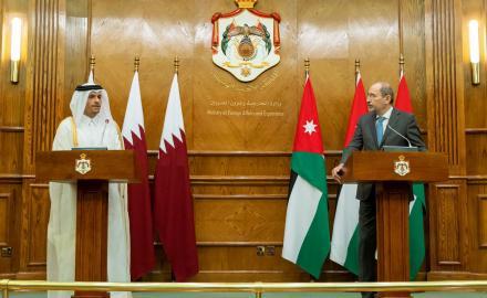 Qatar, Jordan stress need to unify efforts for regional stability