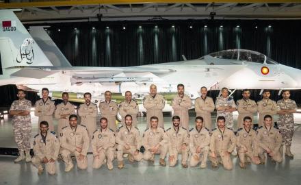 F-15QA fighter jet