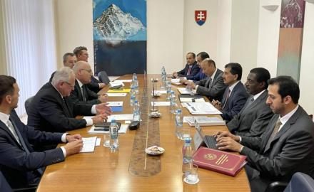 Qatar and Slovak Republic hold political consultations