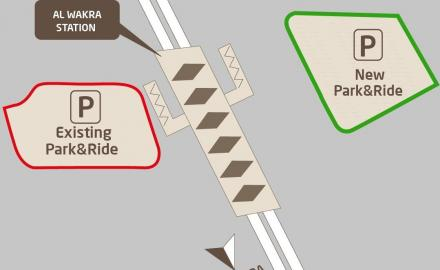 Al Wakra metro parking facility to be relocated to the station's east side
