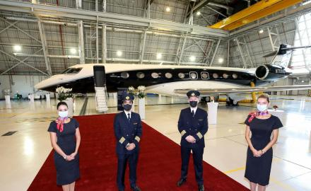 Qatar Executive showcases world's first Gulfstream G700 in Doha