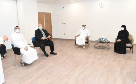 HE the Prime Minister visits Surgical Specialty Center at HMC