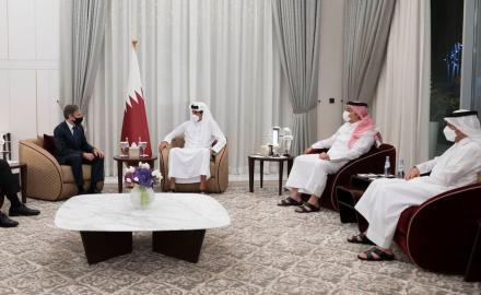 HH the Amir, US Secretaries discuss developments in Afghanistan