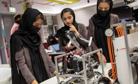 All-female Afghan robotics team gets scholarship to study at Qatar Foundation