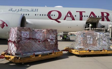 Fifth Qatari plane carrying humanitarian aid reaches Kabul