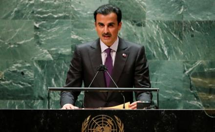 WATCH: HH the Amir delivers opening speech during General Debate of the 76th Session of UNGA
