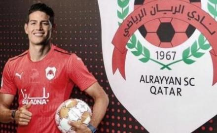 Colombian icon James Rodriguez join Qatar's Al-Rayyan
