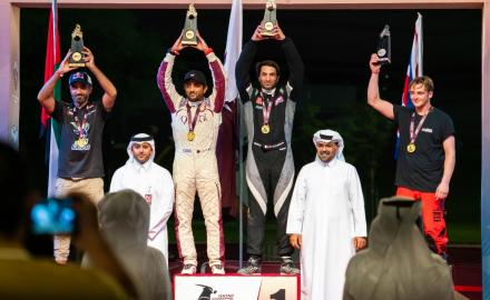 WATCH: Qatar's Al Kuwari wins general classification and SSV category as Qatar International Baja ends