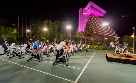 Sheraton Grand Doha goes pink for Breast Cancer Awareness Month