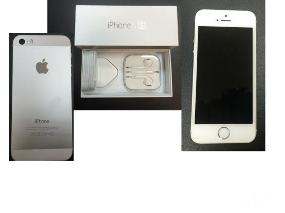 iPhone 5s 64GB White with silver back - QR 2300