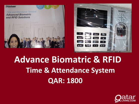 Biomatric & RFID Time & Attendance Machine
