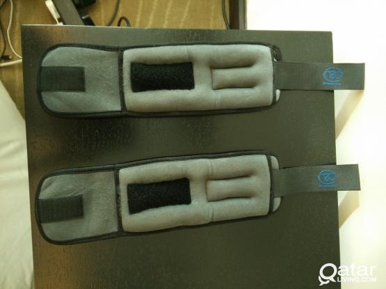 Wrist - Ankle Weights 1 kg x 4 - gym equipment