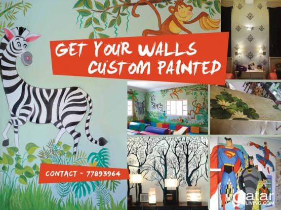 Get your walls custom painted