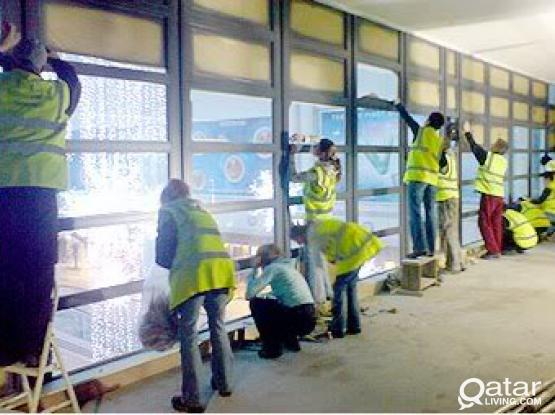 120 skilled cleaners / construction helpers available for immediate employment on contract