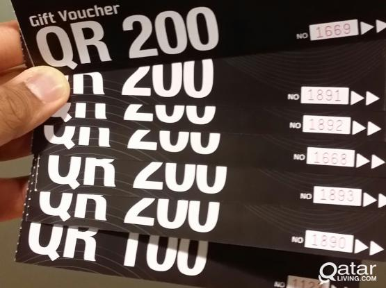 want to sell go sports Gift voucher