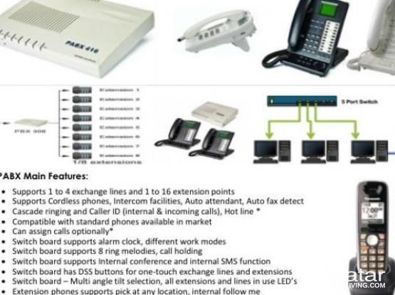 Telephone Solutions, Intercom, Pabx- Lowest Price