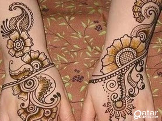 Beautiful  Attractive EID Special Henna Drawing For You...