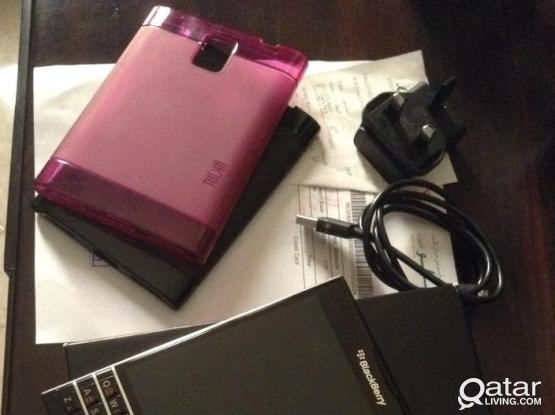 blacberry passport