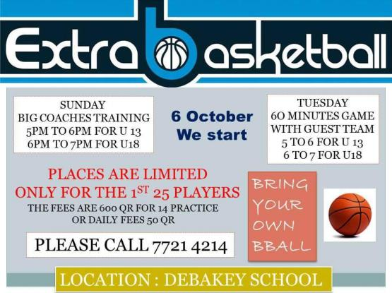 Extra basketball