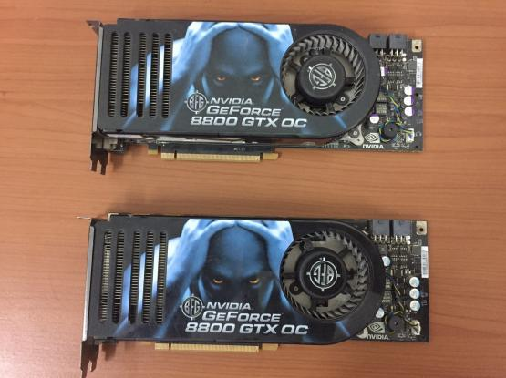 BFG NVIDIA GeForce 8800 GTX 768 MB GDDR3