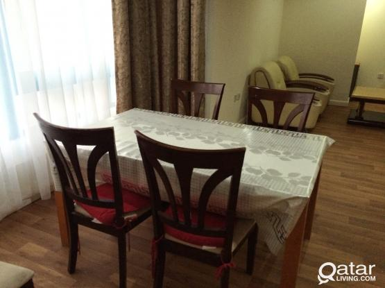 Wooden Dining table with chairs, Sofa Set