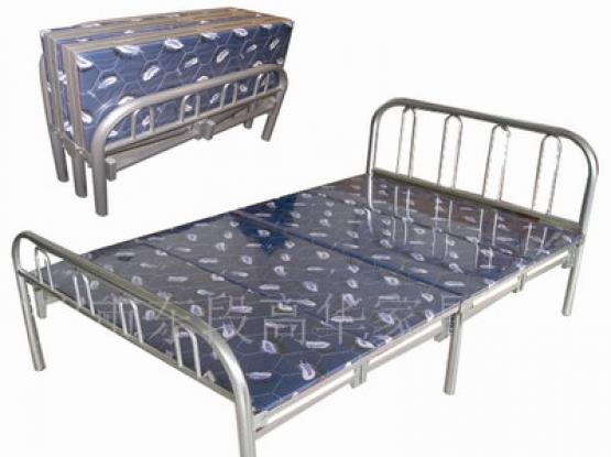 foldable bed with matress