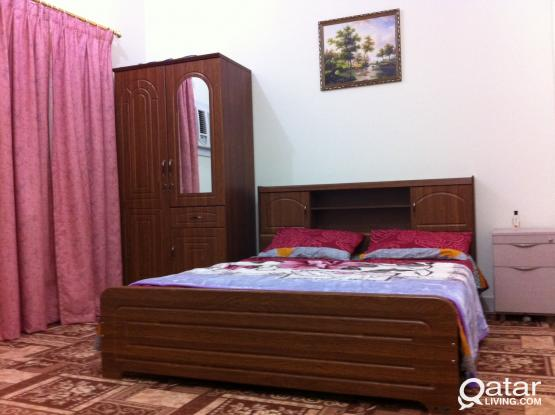 Fully furnished accommodation available for an Executive Bachelor in NAJMA