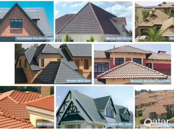 Supply and Fixing of Decorative Roof Tiles at Best Offer