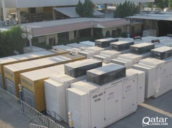 Perkins Generator for rent (13KVA to 500KVA)