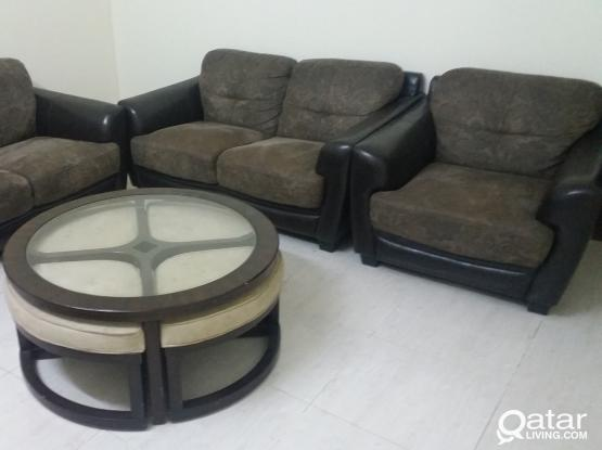 Sofa ( 3 seater, 2 seater and a 1 seater)