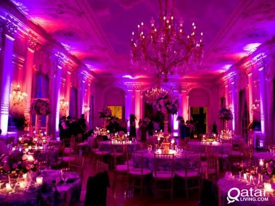 للكوش والمناسبات الخاصة For Wedding, Engagement, graduation and DJ Parties (QATAR DJ)