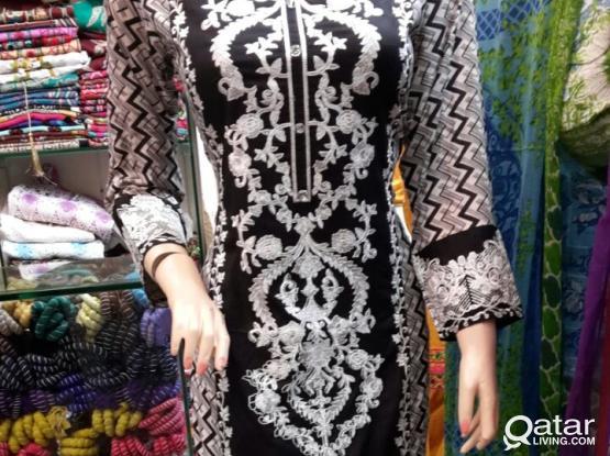 Pakistani embroidered dress