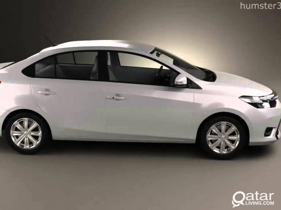 2014 TOYOTA YARIS  FOR RENT (BEST PRICE)