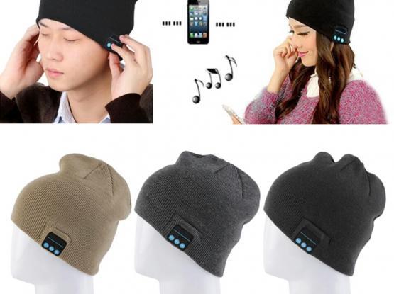 Winter Beanie Smart Bluetooth Cap Headphone