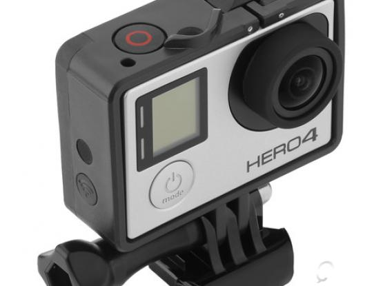 Quick-Release Frame for GoPro HERO3, HERO3+, and HERO4